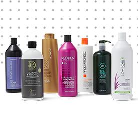 The Salon by InStyle Make every day a good hair day with  Haircare Value Sets.