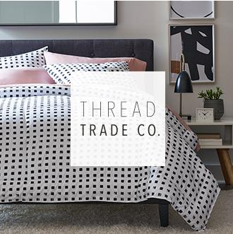 Thread trade co Just uncovered Thread Trade Co. makes updating your bedroom on a budget easy with reversible bedding sets and more. Now at JCPenney.