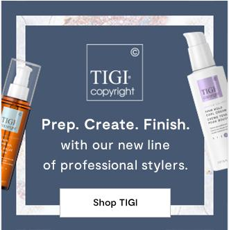 TIGI. Prep Create Finish with our new line of professional stylers Shop Tigi