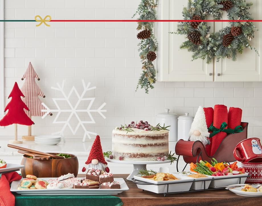 'Tis the season All the serving dishes you need to create a delectable holiday buffet. Shop Now