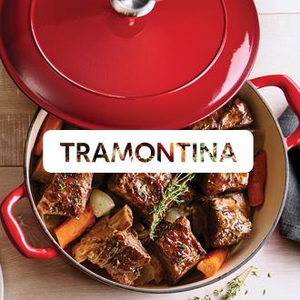 tramontina Here's what's cooking Whether it's home-cooked  comfort or creative cuisine, the  right cookware makes every meal a success. Now at JCPenney.