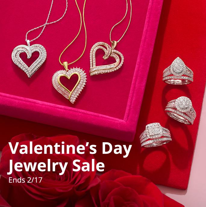Valentine's Day Jewelry Sale, ends 2/17