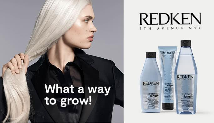 What a way to grow! Redken