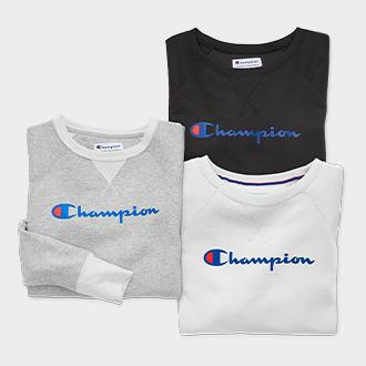 Women's Champion crew sweatshirt or joggers