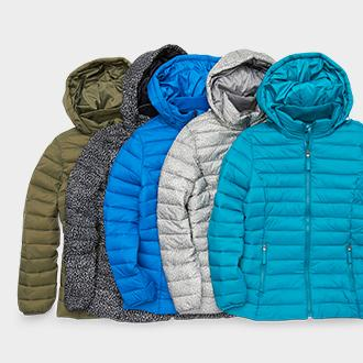 Women's St. John's Bay packable puffer jacket