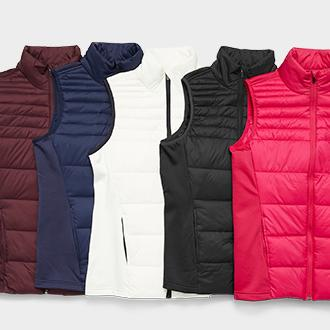 Women's Xersion puffer vest